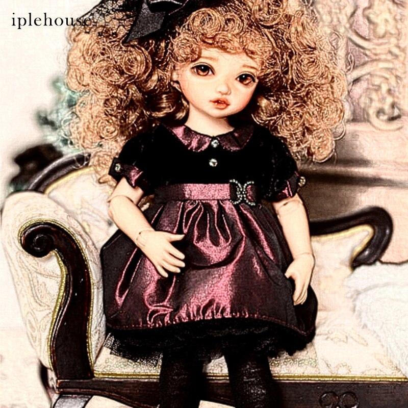 New Arrivals BJD Dolls Iplehouse Anne BID IP 1 6 Fashion cut High Quality Girl Toys