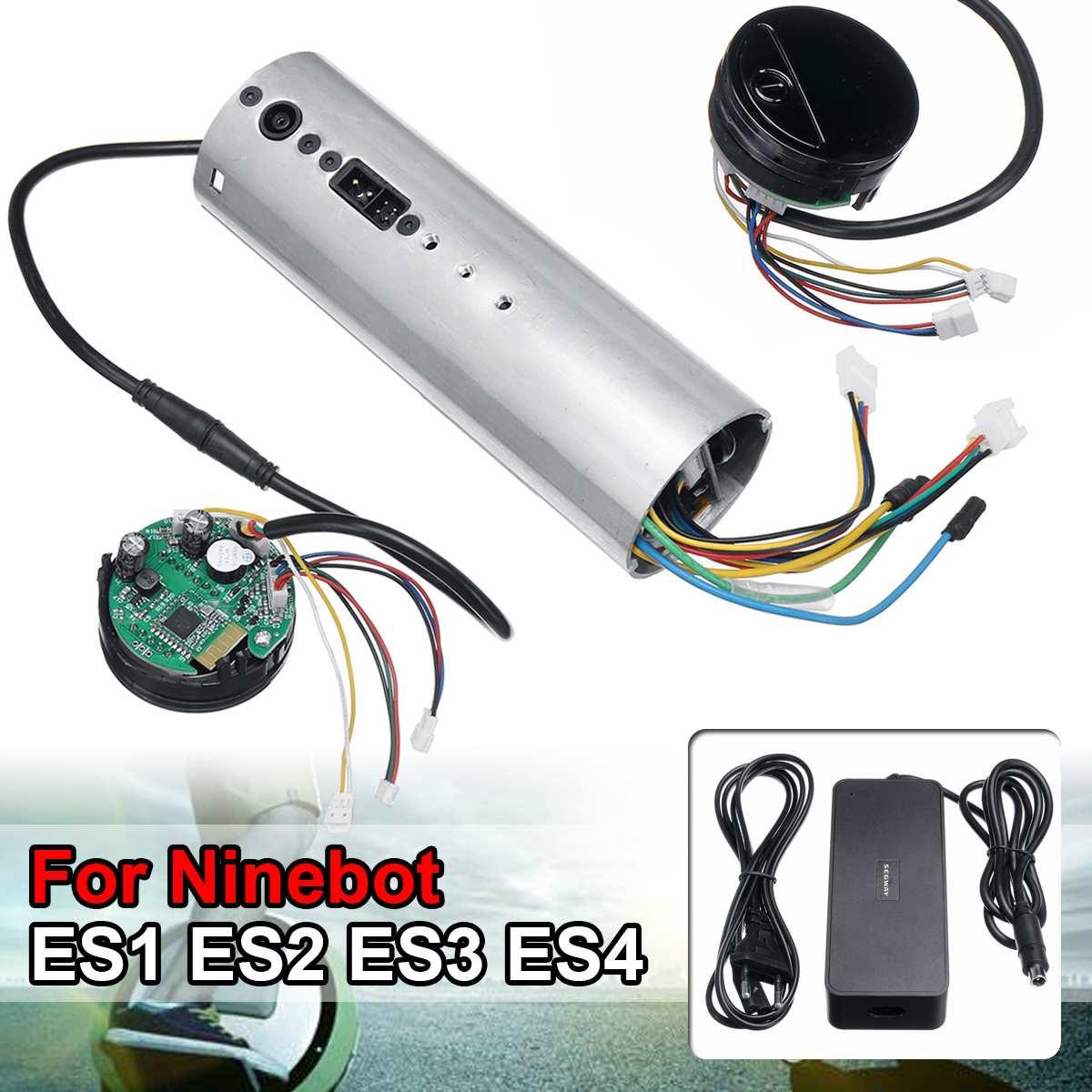 Contrôleur de carte mère de carte mère Bluetooth de carte de commande de Scooter électrique pour le tableau de bord activé par Ninebot ES1 ES2 ES3 ES4