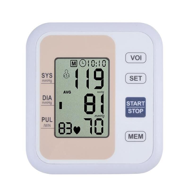 Automatisk digital øverste armblodtryksmåler Heart Beat Rate - Sundhedspleje - Foto 4