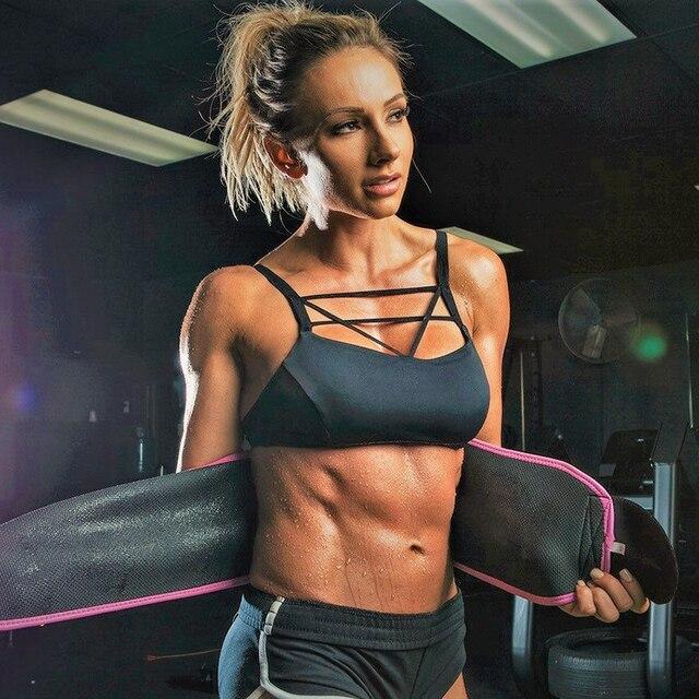 20*110cm Neoprene Sweat Belt Waist Trimmer Belt Weight Loss Sweat Band Wrap Fat Tummy Stomach Sauna Sweat Belt For Walking 5