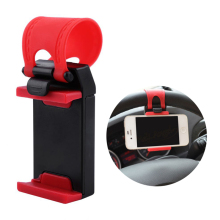 Универсальный автомобильный зажим рулевого колеса держатель для iPhone 8 7 7Plus 6 6s samsung Xiaomi huawei мобильный телефон gps автомобильные аксессуары