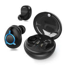 Wireless Bluetooth 5.0 Earphone Business  Mini In-Ear Sports Headset Waterproof Running Earphones T0