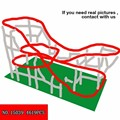 4619 pcs Originalità Vie Serie Parco Giochi Al Coperto Grande Roller Coaster Bambini Alpinia Building Block Giocattoli di Plastica 15039