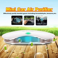 3W Mini Auto Car Fresh Air Negative Ion Purifier Oxygen Ozone Ionizer Cleaner USB Formaldehyde Removal Car Electrical Appliance