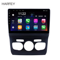 Harfey Android 7.1 2Din 10.1 Inch Car Radio For 2013 2014 2015 2016 Citroen C4 GPS Touchscreen Bluetooth Wifi Multimedia Player