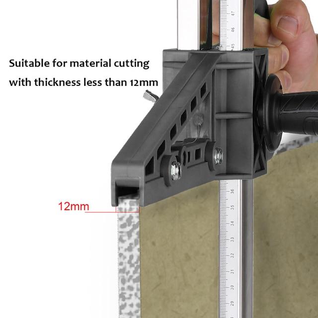 Manual de placa de gesso cortador mão empurrar drywall ferramenta de corte artefato com lâmina dupla e 4 rolamentos