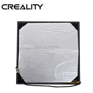 Image 4 - Shipping DHL/Fedex Creality 3D Heated bed plate for CREALITY 3D CR 10/CR 10S/S4 Size 300/400 Cable Installed Well