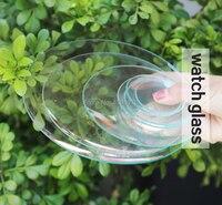 Vidros de relógio Rodada Relógio de painéis de vidro-Copo de vidro tampa do prato do Laboratório glasswares Laboratório para experimentos científicos dia 150 milímetros 10 pçs/caixa