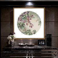 New Chinese Style Living Room Decoration Painting Modern Minimalist Wall Painting Entrance Bedroom Frame Mural Home Decoration