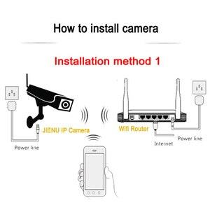 Image 5 - JIENU 720 P 960 P 1080 P ip מצלמה עם wifi אלחוטי אבטחת מעקב וידאו מצלמה P2P תמיכת זיכרון כרטיס onvif