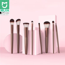 Xiaomi DUcare 8Pcs Professional Make-up Brush-es Set Powder Foundation Eyeshadow Make-Up Brush-es with Storage Bag 60(China)