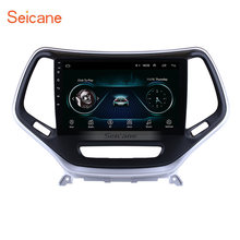 "Seicane Android 8.1 10.1 ""GPS car Multimedia Player Para 2016 Jeep Grand Cherokee 2Din Unidade de Cabeça Touchscreen Wifi Bluetooth(China)"