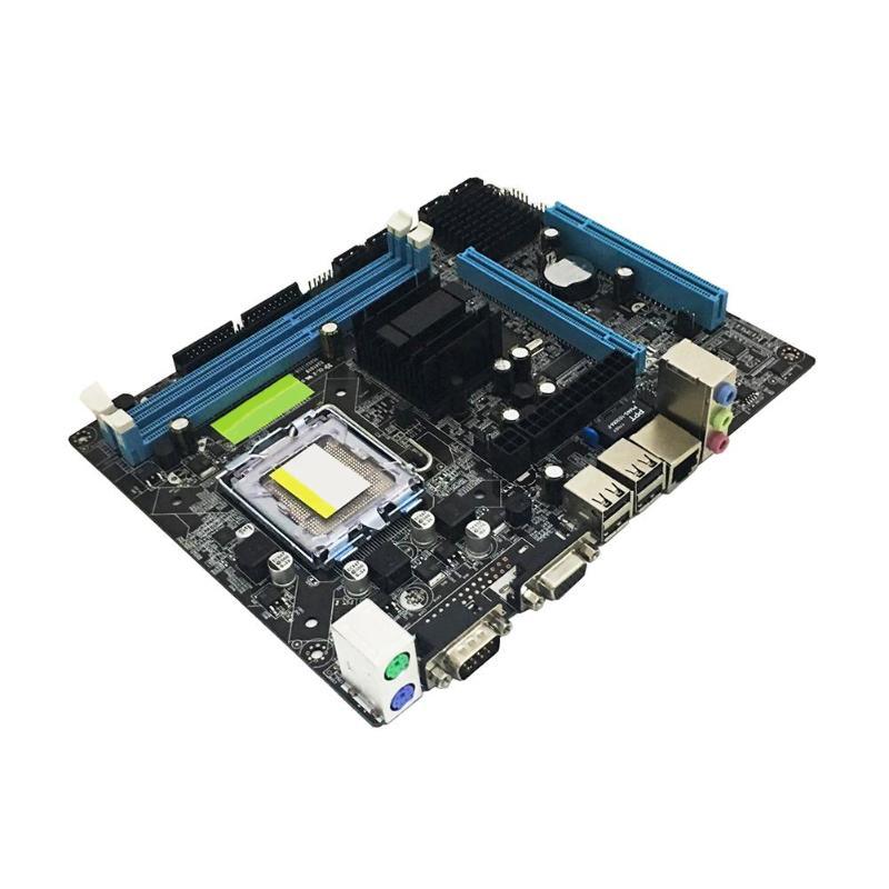 VAKIND G41 PC Ordinateur Carte Mère Pour LGA 775 Dual Core Quad Core CPU DDR3 Mémoire Carte Mère pour Intel G41 G43 g45 Q43 Q45