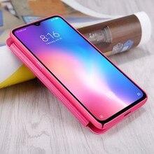 Voor Xiaomi Mi 9 Verkennen Flip Case Nillkin Sparkle Serie Pu Leather Cover Flip Case Voor Xiaomi Mi 9 / mi 9 Explorer 6.39 Inch
