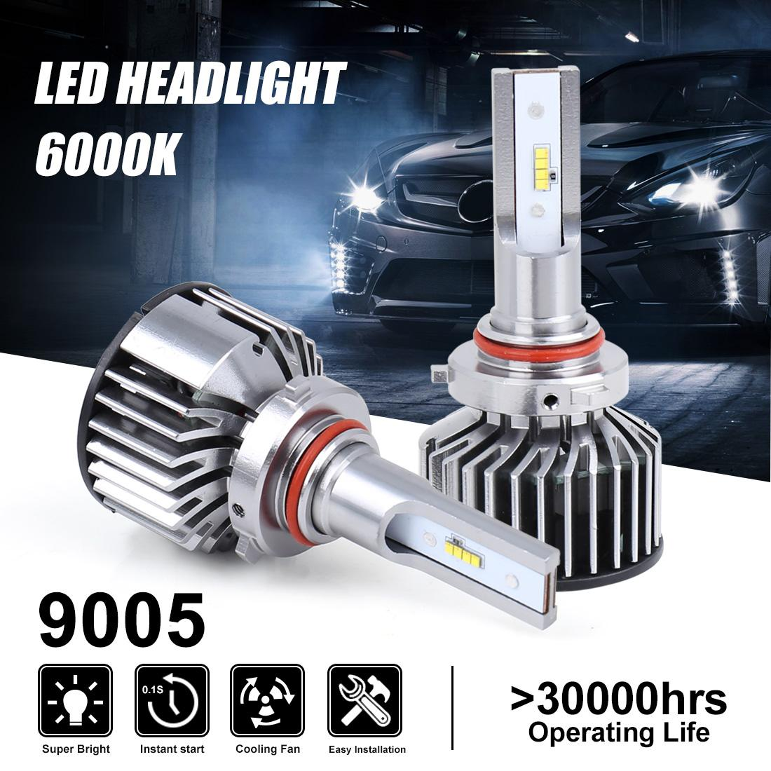 Genuine K8 9005/9012/H1/H3/H4/H7/H11 Car for Philips LED Headlights 6000K 6800LM 55W