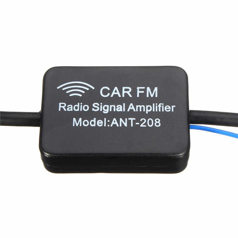 MA799 ANT-208 車両 AM FM 信号ブースターアンプ車インラインアンテナ空中ラジオアンプノイズを低減受信を向上させ品質