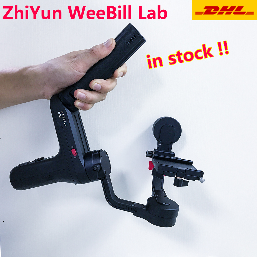 ZHIYUN Weebill LAB 3 Assi Handheld Gimbal Mirrorless Macchina Fotografica Stabilizzatore Handheld Gimbal per Sony A7R3 A7S2 A7M3 A6300 A6500 Lumix Dmc-