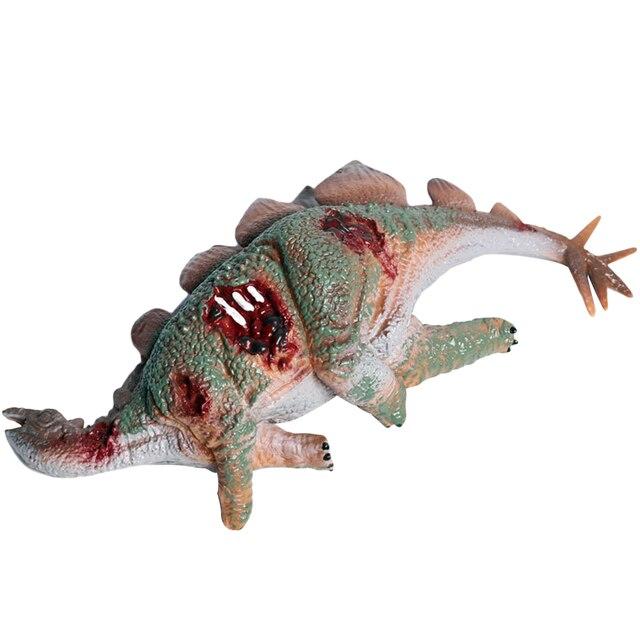 1 PC Modelo Animal Simulação Educacional PVC Modelo de Dinossauro Stegosaurus Modelo Decoração Da Mesa para Ciranças Menino