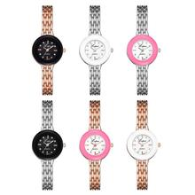 Watch Women's Casual Quartz Leather Band Strap Round Wrist Ladies Watch