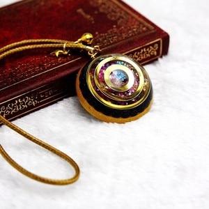 Image 5 - Orgonite Energy Reiki Stone Necklace Pendant Good Luck Bringers Help Love Feelings Necklace Mysterious Harajuku Chakra Jewelry