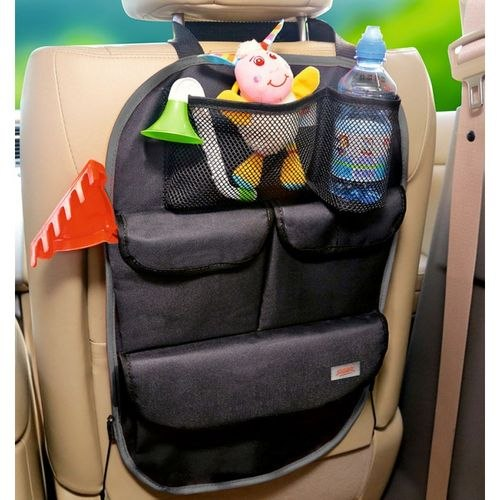 Organizer on seat back Siger ORG-5 compact (ORGS0105) protective cover for the seat back siger safe 2 without pockets kidstravel