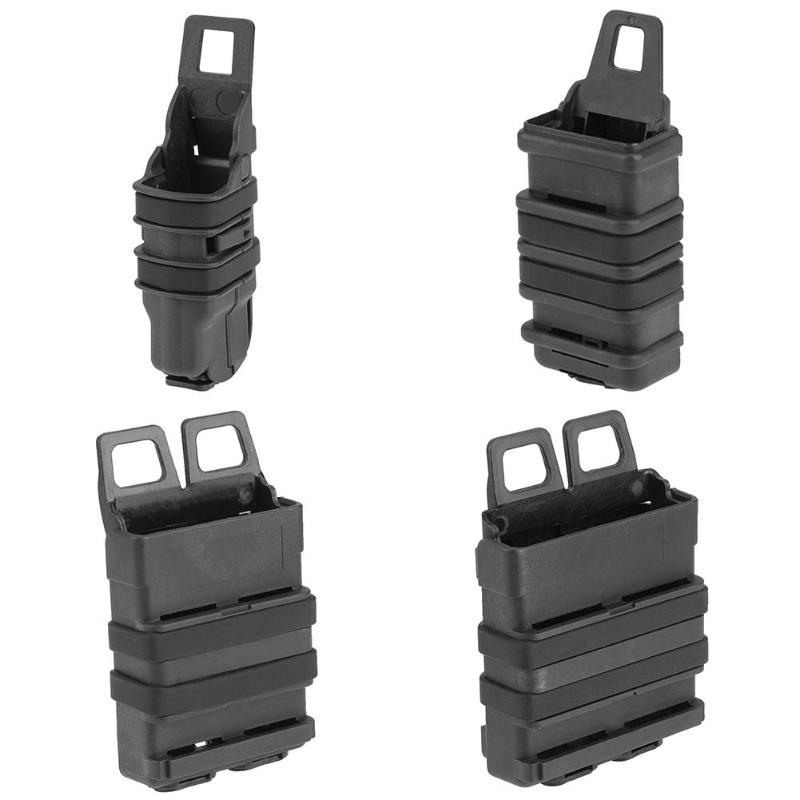 4 Sizes Fast Attach Magazine Pouch Molle Mag Holder Holster Airsoft Hunting Accessories MP7 For Outdoor Hunting Game
