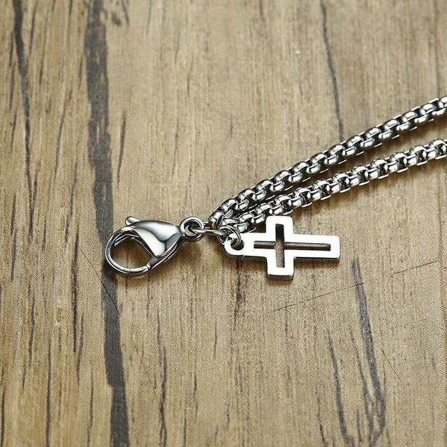 brixini.com - Double Strand Cross Charms Bracelet