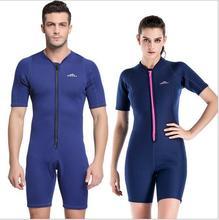 Sweethearts Outfit Diving Suit Prevent Jellyfish Men Women Short Sleeve Swimsuit 2mm Uv Protection Snorkeling Bathing Surf S761 недорго, оригинальная цена