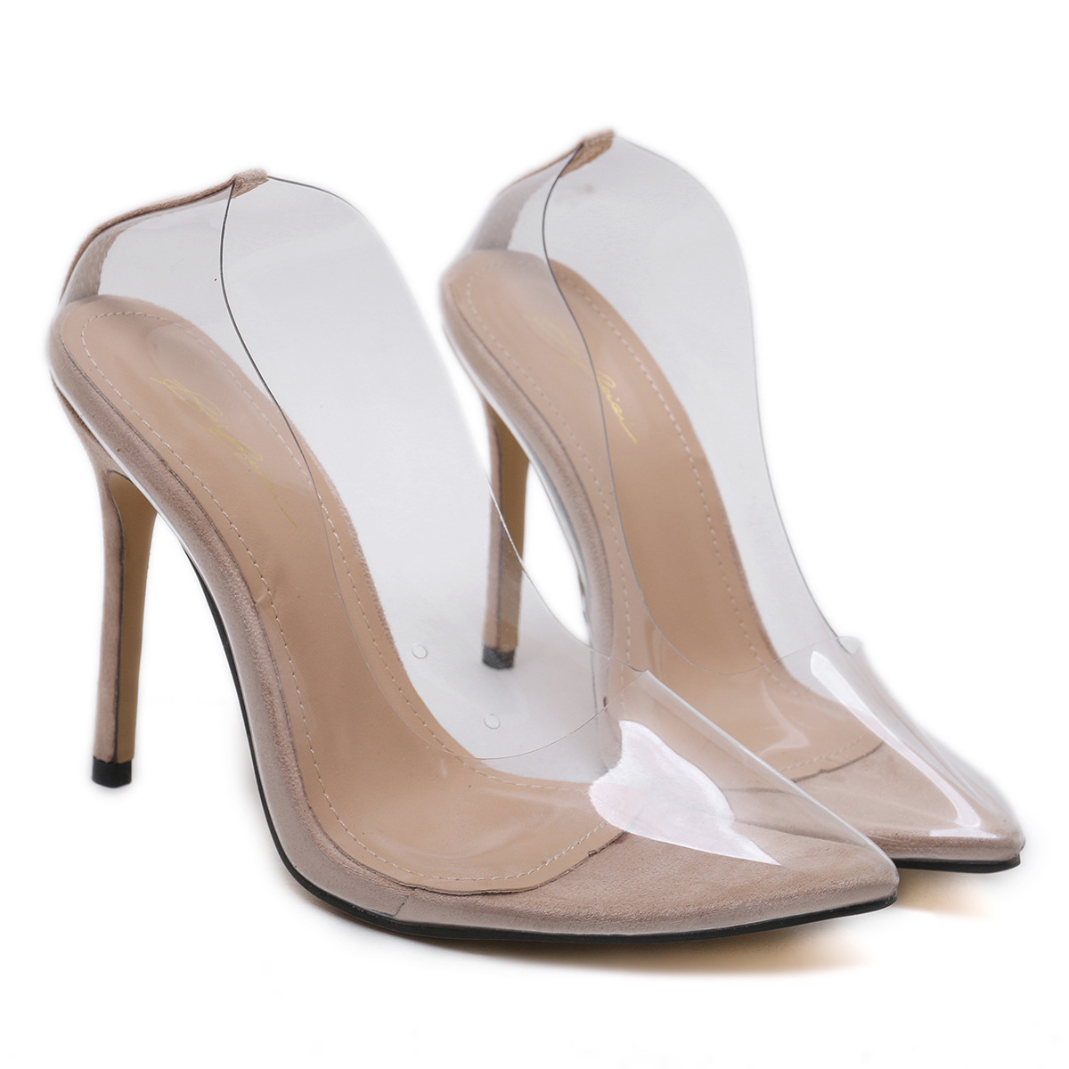 5594de3272d Detail Feedback Questions about Clear PVC Transparent Pumps Sandals Perspex  Heel Stilettos High Heels Point Toes Womens Party Shoes Nightclub Pump on  ...