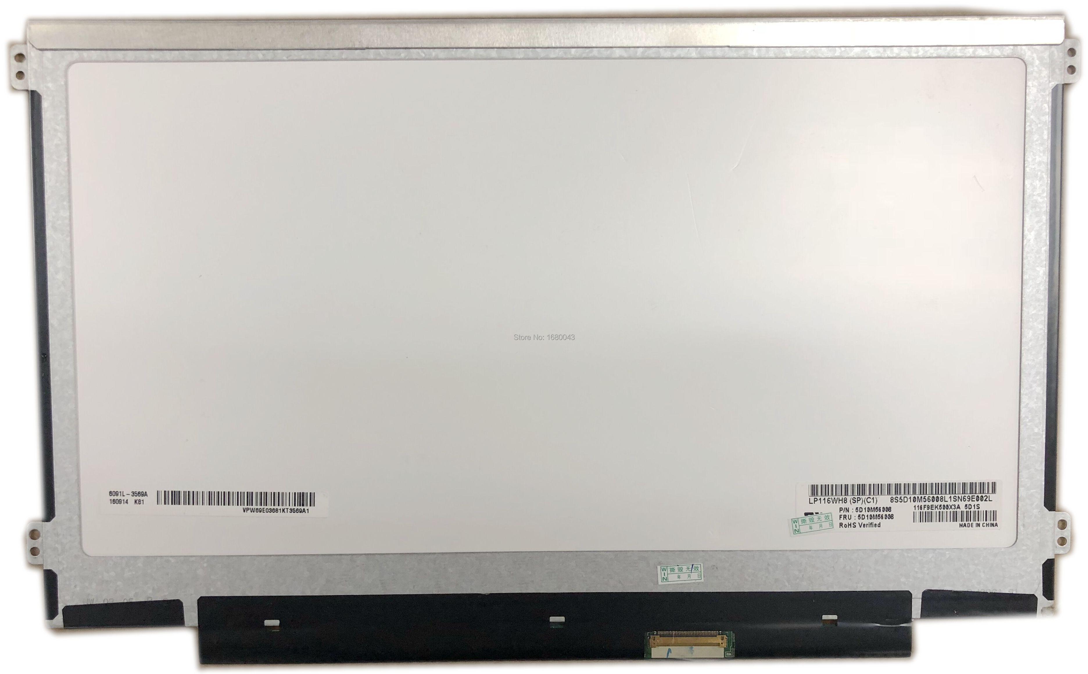 LP116WH8 SPC1 LP116WH8 (SP) (C1) yeni 11.6 WXGA HD 1366x768 LED LCD Ekran Paneli IPS 40PIN eDP Laptop LCD LED ekranLP116WH8 SPC1 LP116WH8 (SP) (C1) yeni 11.6 WXGA HD 1366x768 LED LCD Ekran Paneli IPS 40PIN eDP Laptop LCD LED ekran