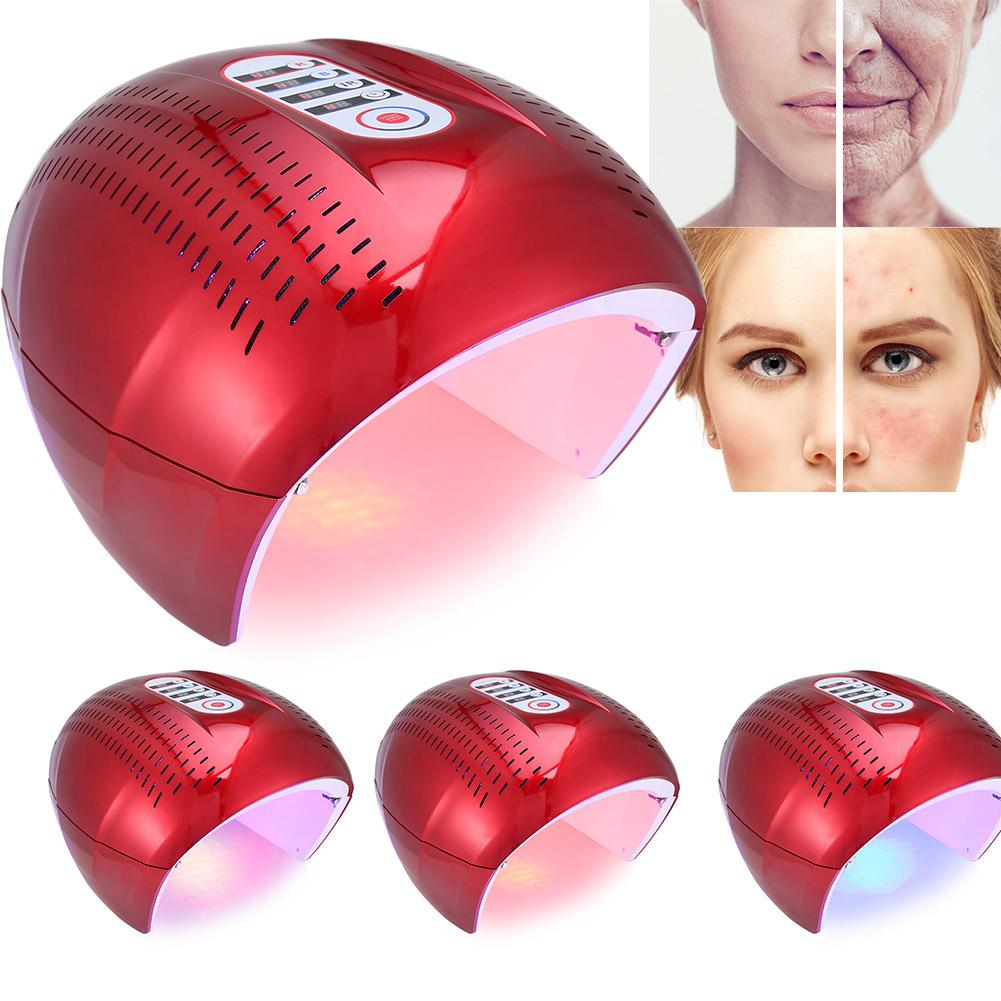 Face Skin Care Tools 4 Color Pdt Acne Removal Machine Face Led Light Therapy Skin Rejuvenation Face Care Eu Us Uk Plug S