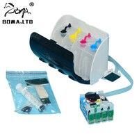 1 Set T220 T2201 Ciss Continuous Ink Supply System For Epson XP420 XP424 XP320 WF2630/WF2540/WF2520/WF2530 Printer