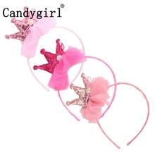 189pcs Butterfly Bow Headbands Women Hairbands Princess Crown Crystal Flower Headdress Hair band Accessories Headgear Headwear