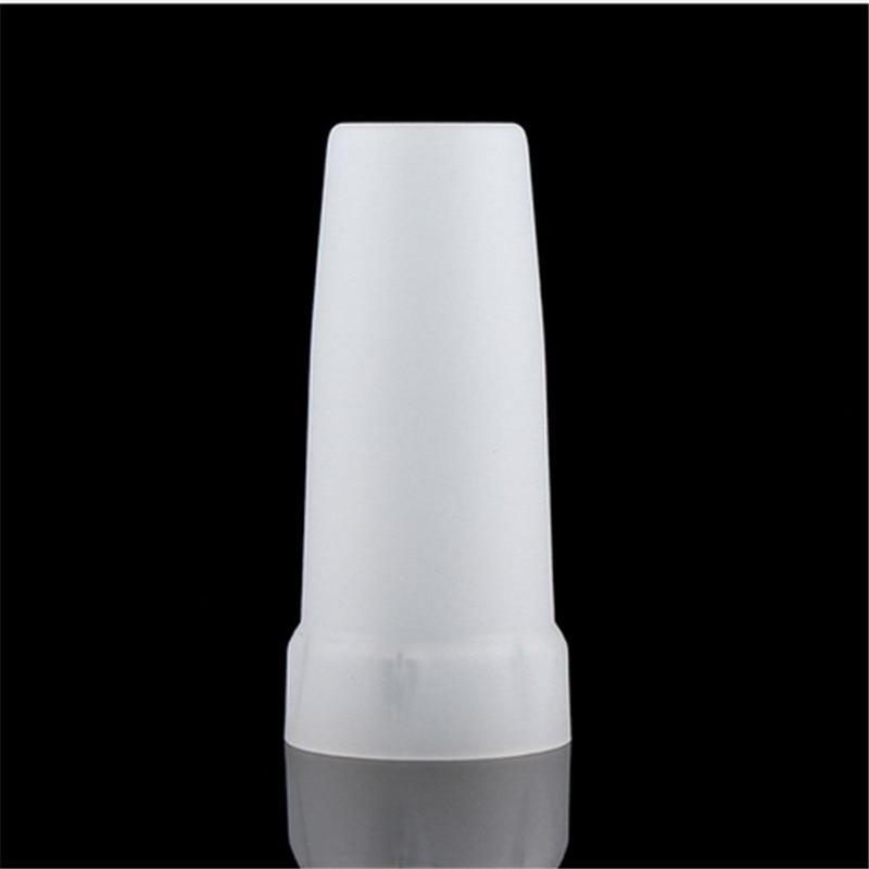 Işıklar ve Aydınlatma'ten Taşınabilir Aydınlatma Aksesuarları'de CLAITE yeni 24.5mm plastik LED el feneri Torch beyaz sarı difüzör konvoy için S2 S3 S4 S5 S6 S7 S8 için açık kamp title=