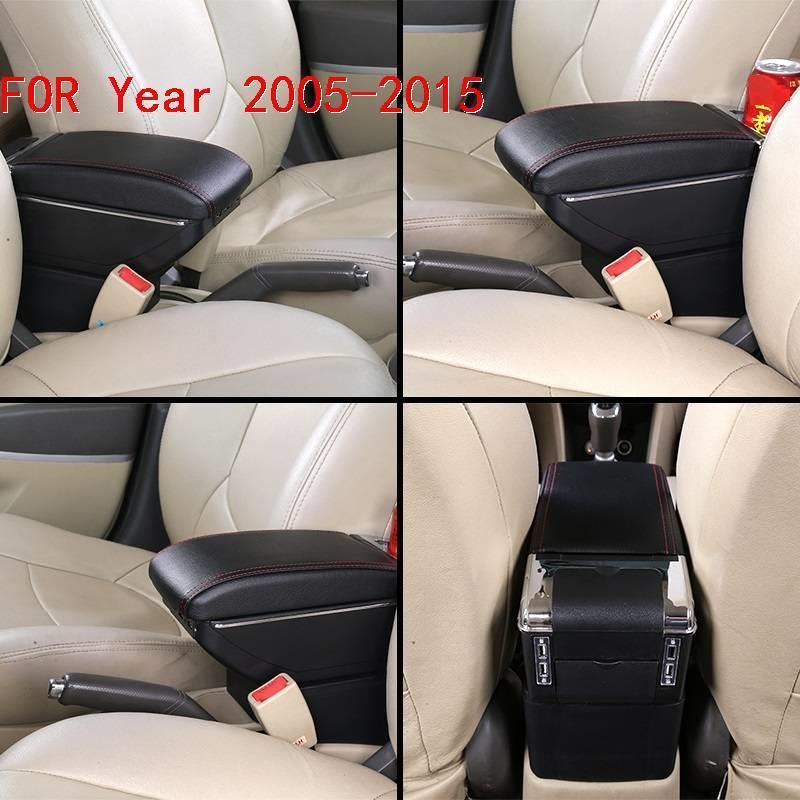 Arm Rest Decoration Accessories Modification Car styling Car Armrest Box 05 06 07 08 09 10 11 12 13 14 15 FOR Nissan Tiida in Armrests from Automobiles Motorcycles