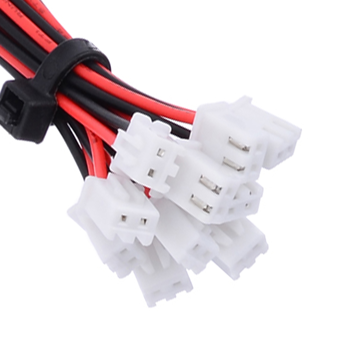 10 Sets 24AWG Mini Micro Connector With Wires JST XH 2.54mm 2 Pin Connector Plug With Wires 150mm Length image