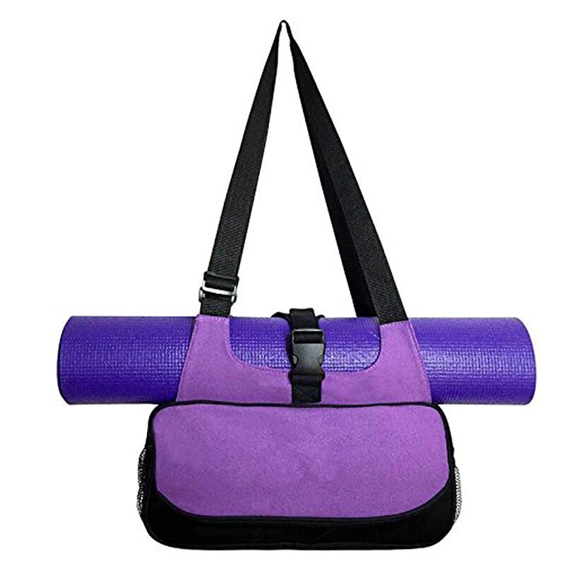 Ropa De Hombre Multi-functional Yoga Mat Canvas Bag Backpack Shoulder Messenger Sport Bags For Women Fitness Duffle Clothes Gym Wellness Bags