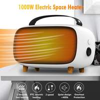 MEILING HW A205 1000W PTC Ceramic Electric Space Heater Portable Electric Heaters Tip Over Overheat Protection Indoor Heating