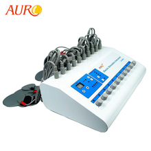 Free Shipping 2019 AURO Products Electro Muscle Stimulator Microcurrent Pulse St