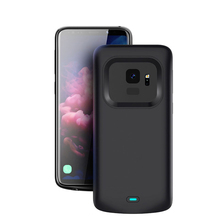 5500mah Battery Charger Case For Samsung Galaxy S9 S8 Plus Soft Charger Phone Power Cover For Samsung Note 8 Note 9 Battery Case