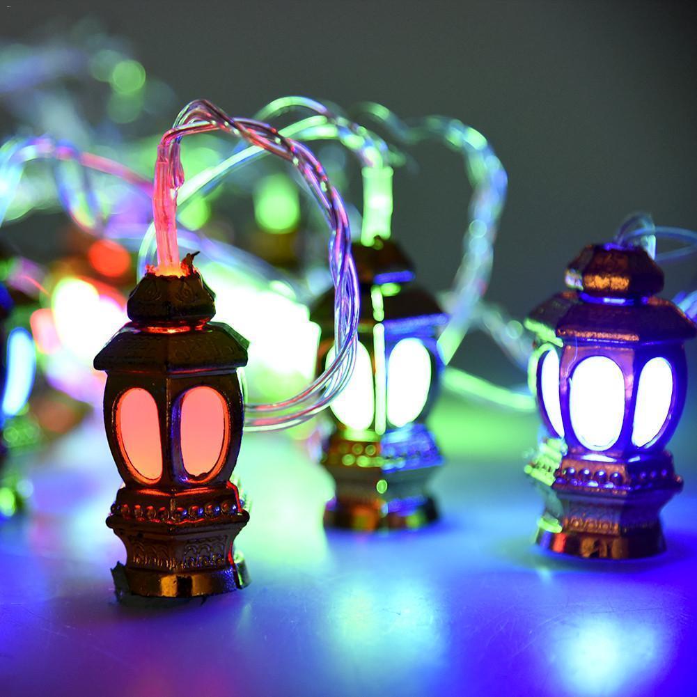 20 Led Palace Lantern New Year Holiday String Light With Eu Plug Fariy Xmas Decortive Lamp Indoor Outdoor