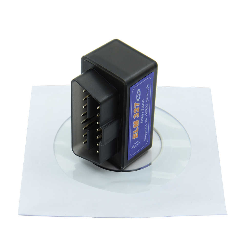 Mini Elm327 Bluetooth OBD2 V2.1 OBD 2 Car Diagnostic-Tool Scanner Elm327 OBDII Adapter Auto Diagnostic Tool Car code Reader