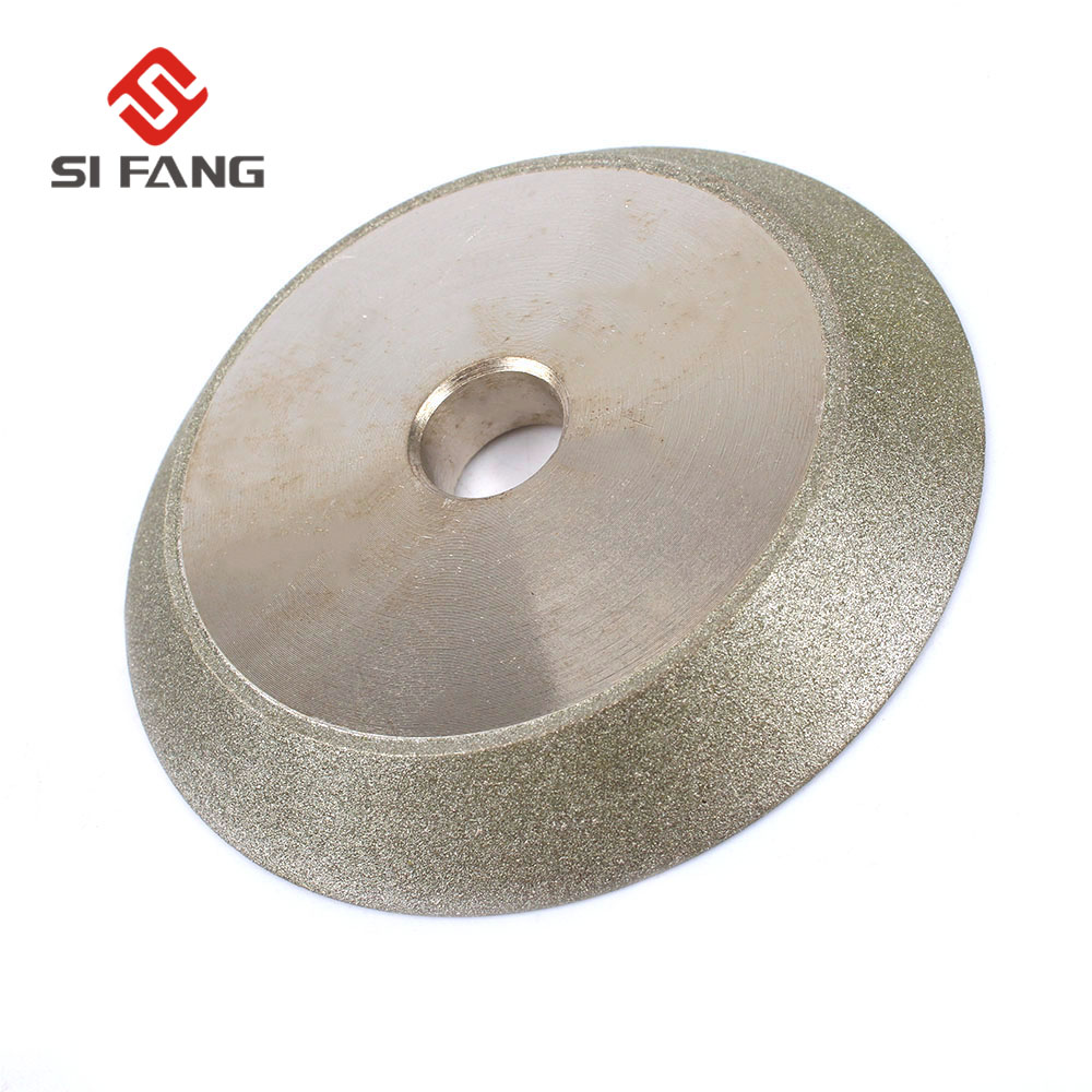 3'' Electroplated Diamond Grinding Wheel Cup 1/2''Bore Grit 150 For Tungsten Carbide Tools Sharpening Cutter Tool 78mm