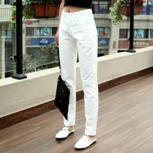 Женские джинсы бойфренды с высокой талией повседневные Прямые