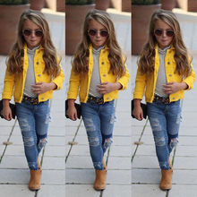 2019 Newly Toddler Girl Clothes Jacket Big Kids Child Baby Boy Girl Clothing Den