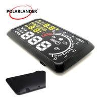 Windshield Project Car Detector OBD Interface bluetooth HUD Alarm System X3 Universal Car Display KM/h MPH Speeding