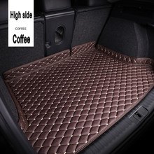 ZHAOYANHUA – tapis de coffre de voiture personnalisé, revêtement de sol, pour Audi A6 S6 C5 C6 C7 Allroad Avant 5D (1997-