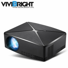 ViviBright C80UP Mini LED Projector Android WIFI Bluetooth Video Game Projector Home Cinema Beamer 1280×720 Resolution