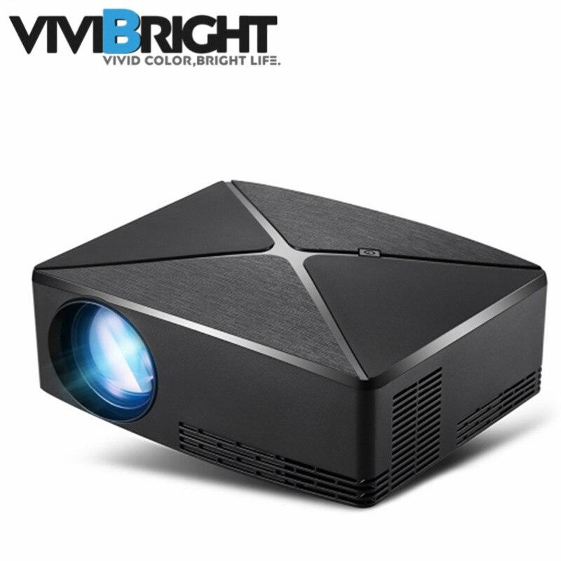 ViviBright C80UP Mini projecteur LED Android WIFI bluetooth projecteur de jeu vidéo Home cinéma projecteur 1280x720 résolution
