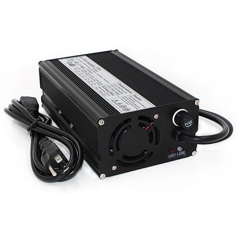 Cargador 29,4 V 18A para 7 S lipo/polímero de litio/paquete de baterías Li ion cargador inteligente soporte CC/ CV modo 4,2 V * 7 = 29,4 V - 3